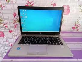 HP Elitebook Folio 9470M slim, core i5, cocok dipake Kuliah