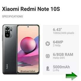 Redmi note 10s 8/128 resmi