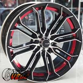 Velg Mobil Murah RacingTritone R16 Lebar 7 Pcd 4-100/114.3 Et 38 Agya