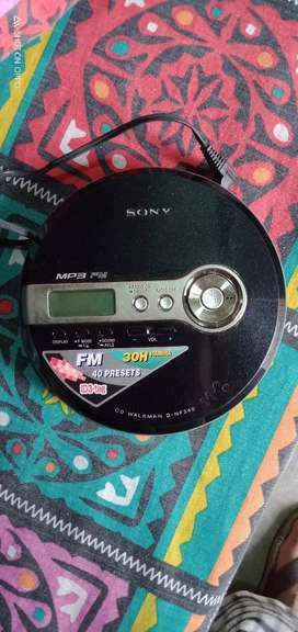 Sony Audio MP3 CD player. Org