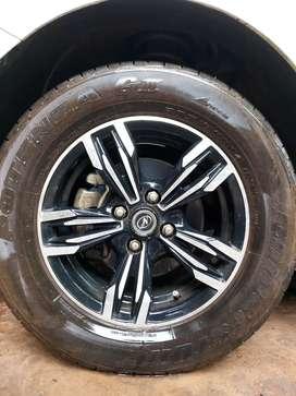 Tyre - Bridgestone potenza G3 205/60R14. wheel - Neo Transformer14inch
