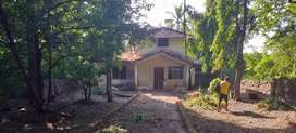 Plot with a bungalow at GOA