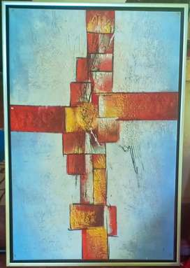 painting Acrylic abstract art