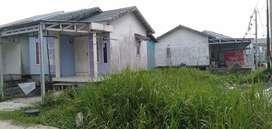 Jual rumah type 38 luas 156m² SHM