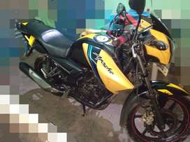 TVS apache RTR 160 tip top condition.