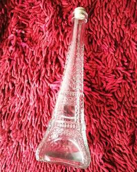 Paris glass bottle for sale
