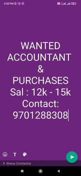 Knowledge about GST, Purchases & Tally