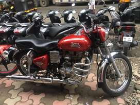 Royal Enfield Electra 350cc Red EMI Option Available