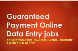 Genuine Part Time & Full Time jobs- Typing/ Data entry jobs- Apply NOW