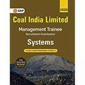 System management trainee coal India limited