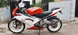 aprilia rs 125 italian sportbike full paper plat B nopil