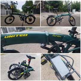 Sepeda United Furion 2020 Sepeda Listrik Sepeda Lipat Bekas (Second)