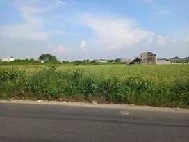 Dijual tanah di Taruma Jaya Bekasi pinggir jalan. Bekasi