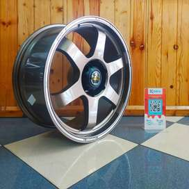 Velg rays ring 20 pcd 6x139.7 pajero fortuner ford everest