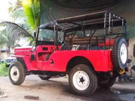 Four wheel drive jeep