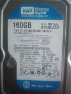Hardisk 160GB god candition