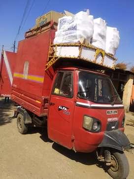 Ape Mahindra Alfa plus 3 wheelar    ...With full pack body
