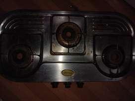 3 burner Gas shegadi for sell