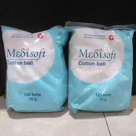 Kapas Medisoft / Medisoft Cotton Ball