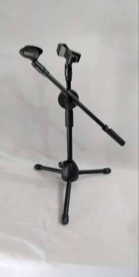 tripot microphone dobel holder