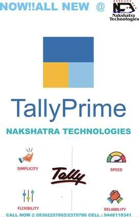 Tally Prime, Tally ERP, TALLY GST, TALLY EDUCATION, TALLY ACADEMY