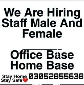 Receptionist Staff Required