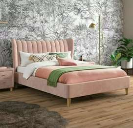 Butterfly bed with 2 side tables