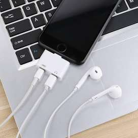 Iphone headphones jacks 2 in 1
