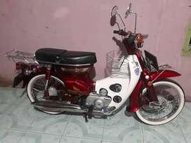 Motor Honda c70 tahun 1979