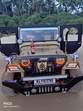 Mahindra Modified Jeep