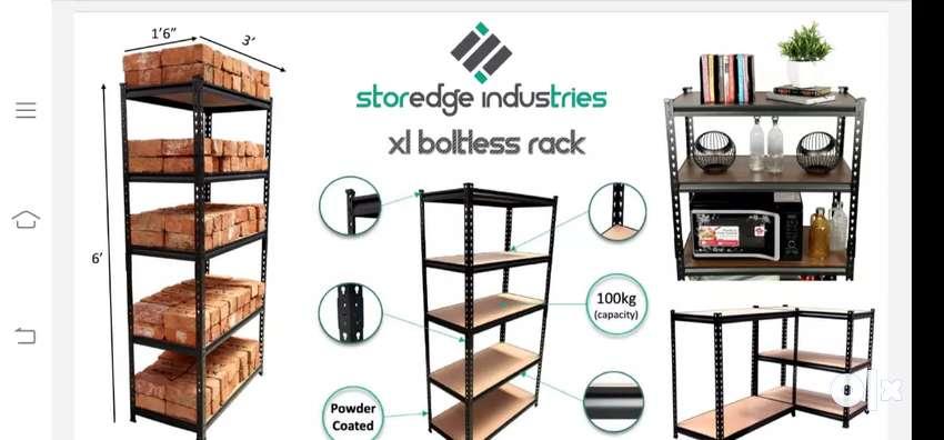 Sloted angle rack (boltless) 0