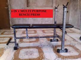 New Bench 3 in 1 Home gym Body Workout equipment