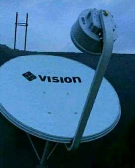 Pasang Indovision Mnc Vision Family Pack tv jernih paling hemat