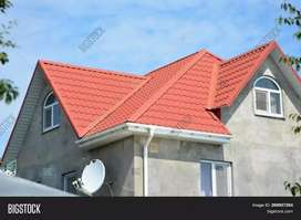 Iron Pipe  roof construction