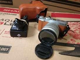 Jual Gan Kemera Mirrorless Fujifilm X-A2 Lensa 16-50 mm
