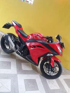 Kawasaki ninja fi 250 istimewa