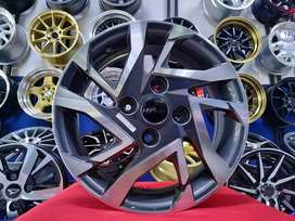 Ready velg standar avanza veloz R15 hsr million warna grey polish