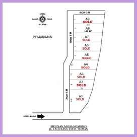 Lahan Sleman Jl Kaliurang Cocok Untuk Kos Exclusif