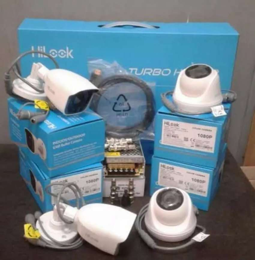 PAKET CCTV Hilook 2mp 4 Kamera 0