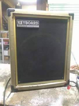 "Ampli keyboard Roland cube 60 japan bonus 2 speaker pasif 12"""