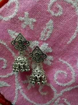 Oxidized earrings