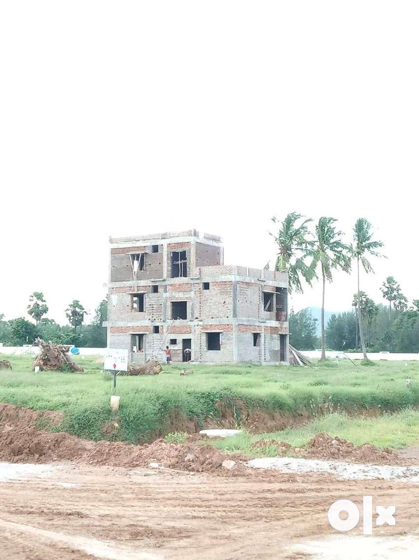 duvvada villas and plots vuda approved 80% bank loan availelty 0