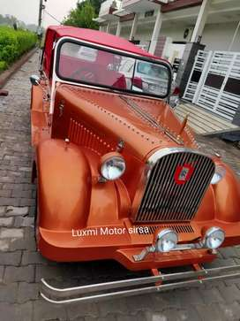 Wedding vintage car