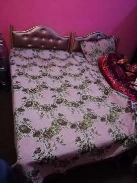 iron single bed with martis