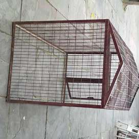Pet cage house