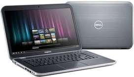 15.6 screen dell core i5 laptop with 4gb ram ,bill n warranty