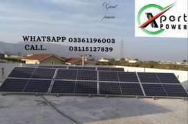 A #5kW solar power system installed near #Wah Cantt,