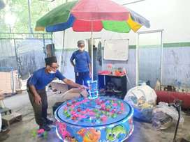 RST Ikan magnet odong odong robocar kora kora Murah playground air IIW