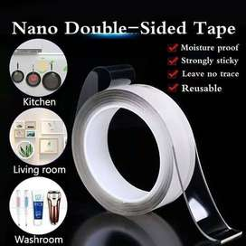 Nano Magic Bening Tahan Air Acrylic Washable Double Tape [30 mmx2M]