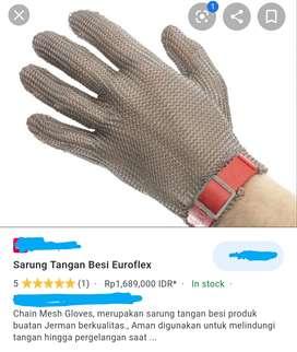 SARUNG TANGAN METAL ( Metal glove )